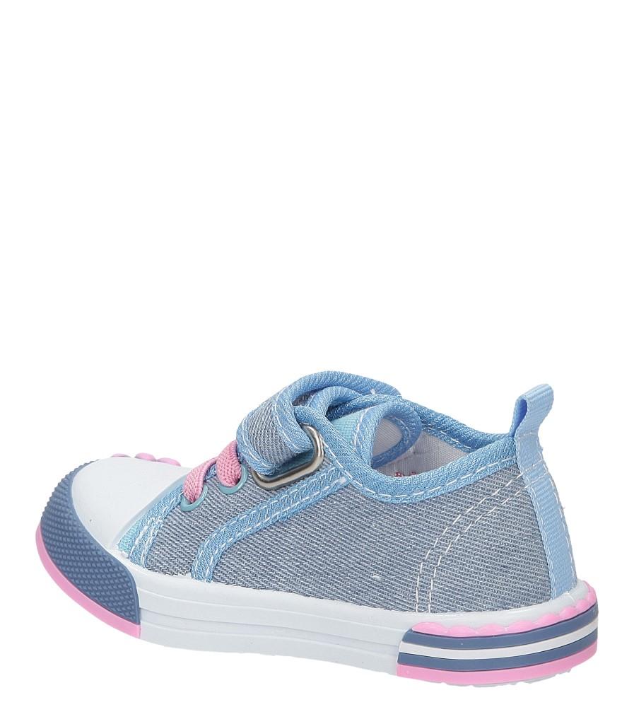 Dziecięce TRAMPKI CASU 1SP-245-LS niebieski;;