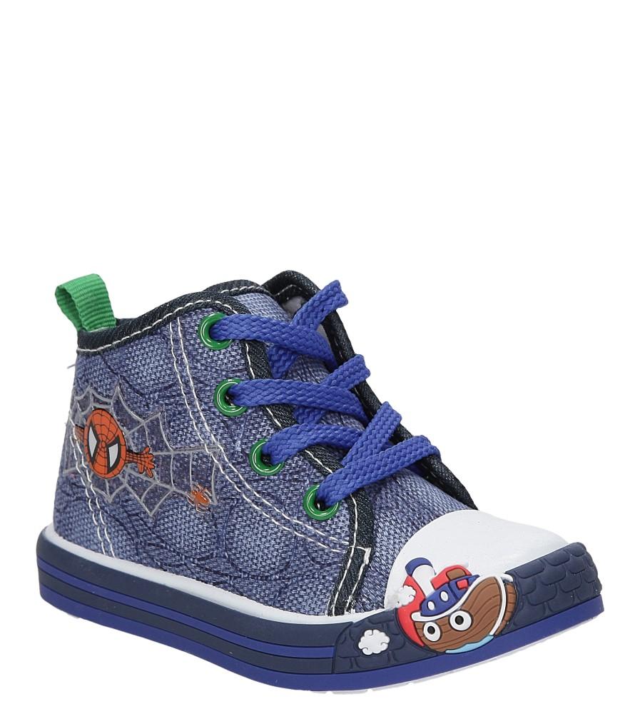Dziecięce TRAMPKI CASU 1SP-240-LS niebieski;;