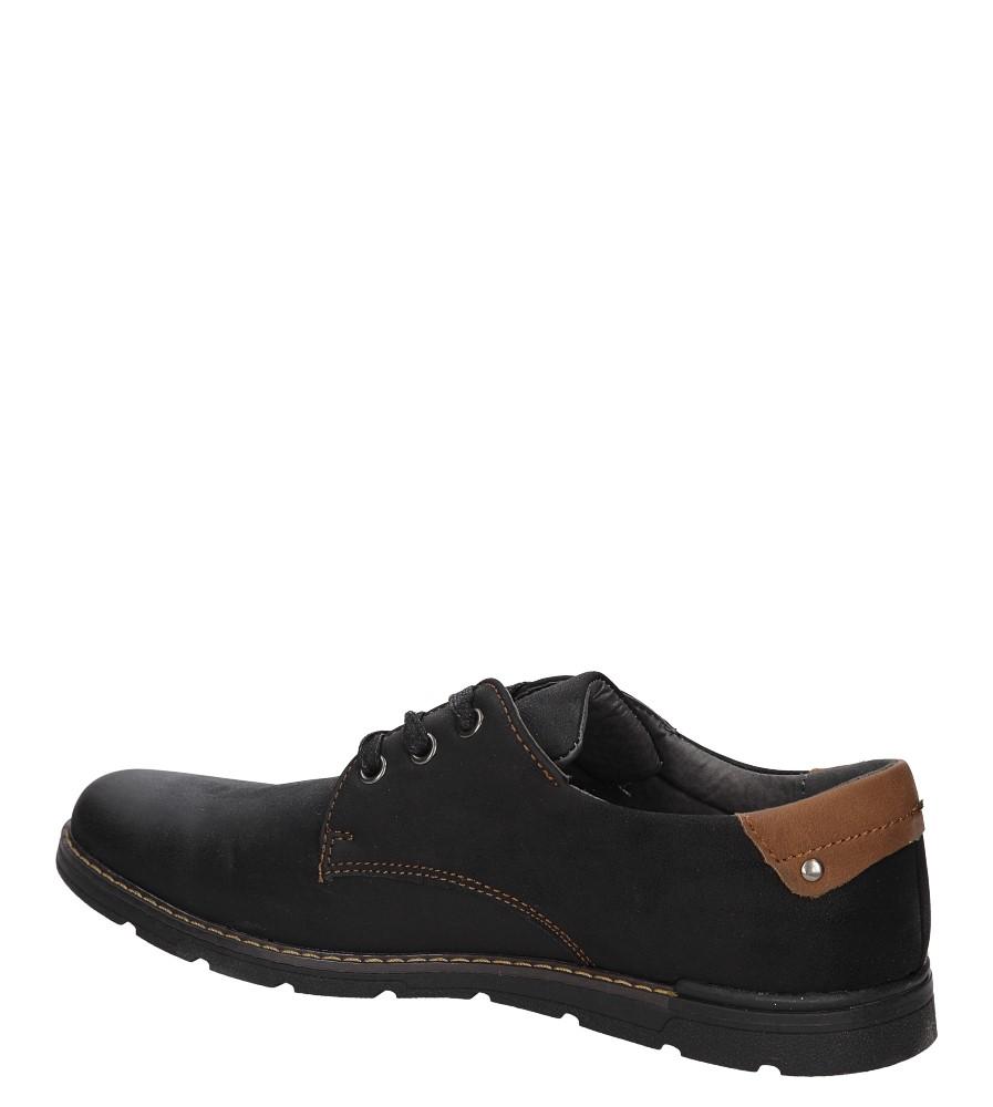 PÓŁBUTY CASU LXC-348 kolor czarny