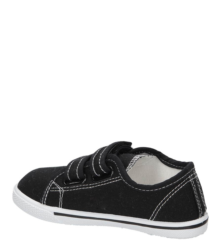 TRAMPKI CASU 3SP-309-LS kolor czarny
