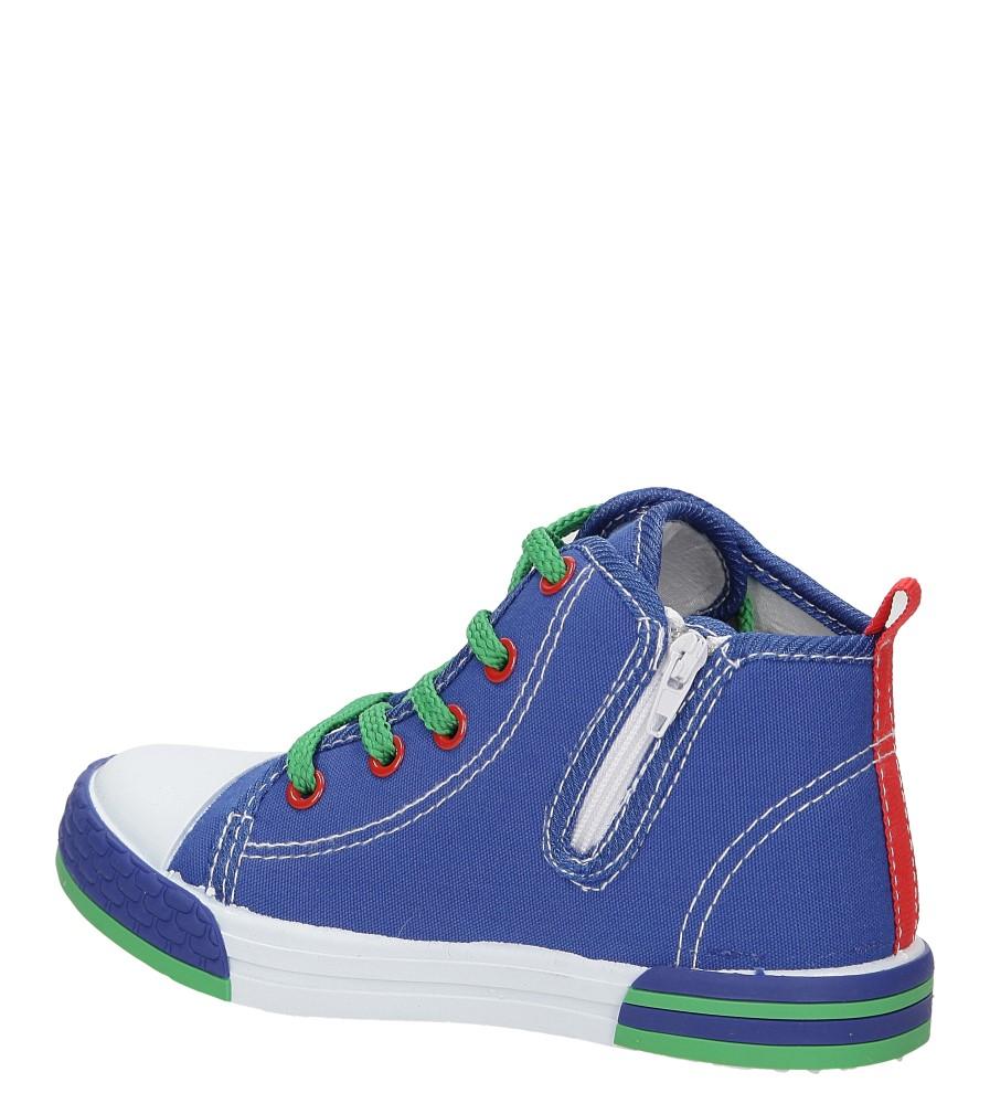 Dziecięce TRAMPKI CASU 3SP-240-LS niebieski;;
