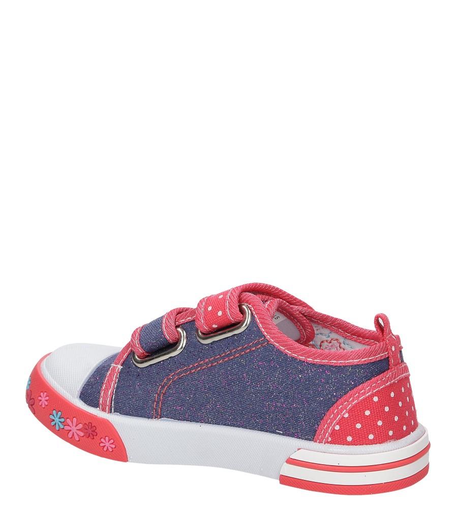 Dziecięce TRAMPKI CASU 3SP-265-LS niebieski;czerwony;