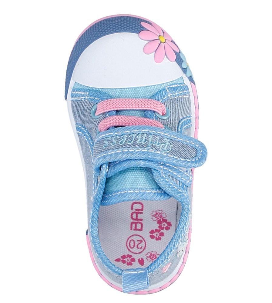 Dziecięce TRAMPKI CASU 3SP-245-LS niebieski;;