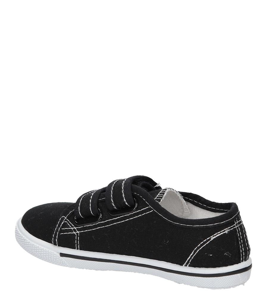 TRAMPKI CASU 3SP-307-LS kolor czarny