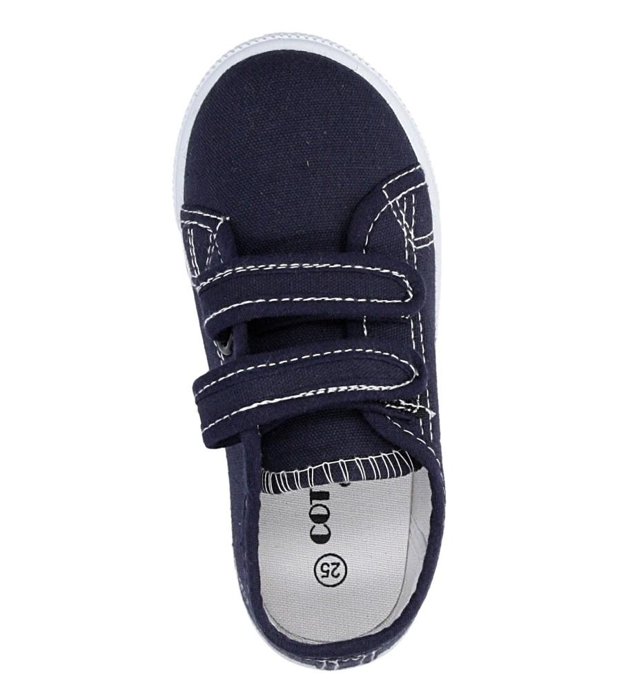 Dziecięce TRAMPKI CASU 3SP-307-LS niebieski;;