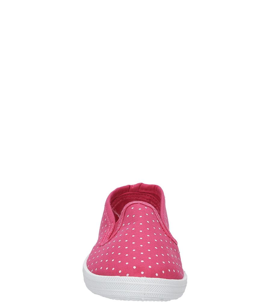 Dziecięce TRAMPKI CASU 3SP-301-LS różowy;;