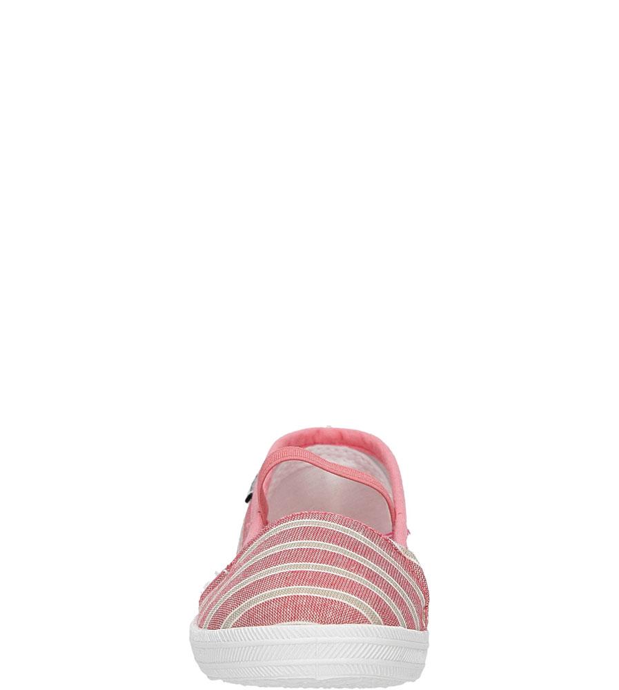 Dziecięce TRAMPKI CASU 3SP-284-LS różowy;;