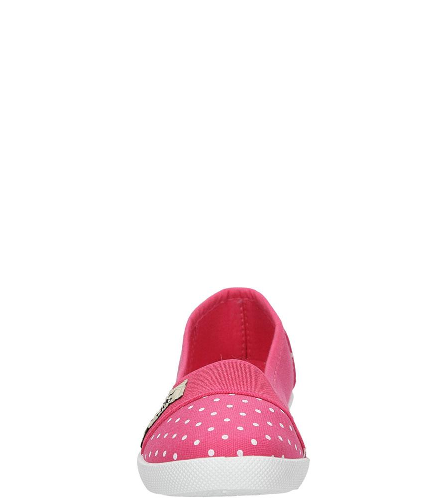 Dziecięce TRAMPKI CASU 3SP-386-LS różowy;biały;