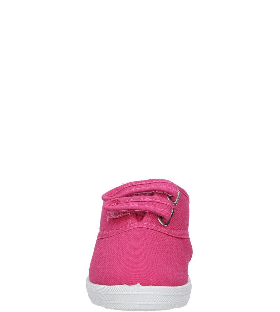 Dziecięce TRAMPKI CASU 3SP-147B-LS różowy;;