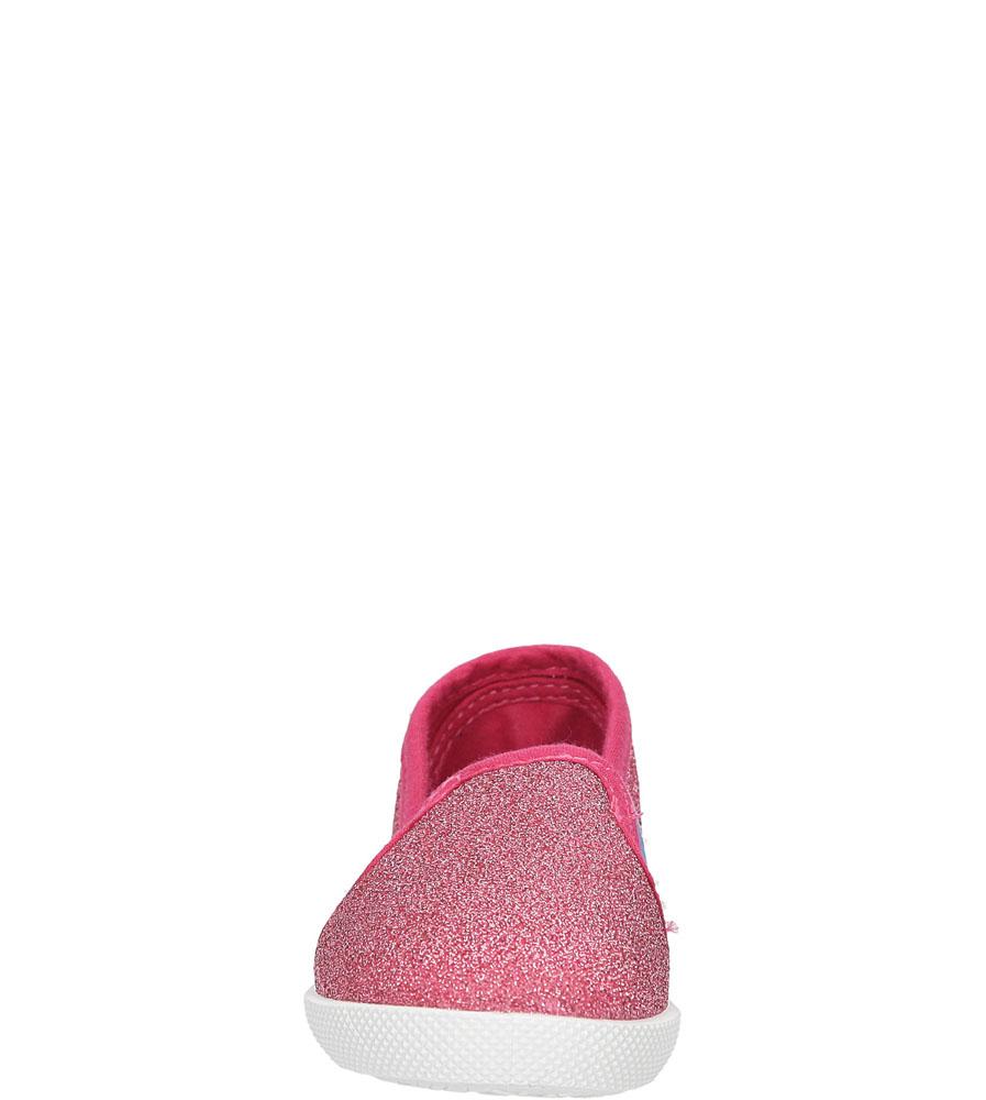 Dziecięce TRAMPKI CASU 3SP-423-LS różowy;;
