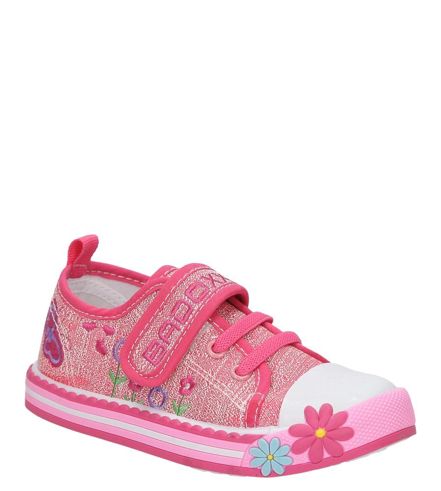 Dziecięce TRAMPKI CASU 3SP-261-LS różowy;;