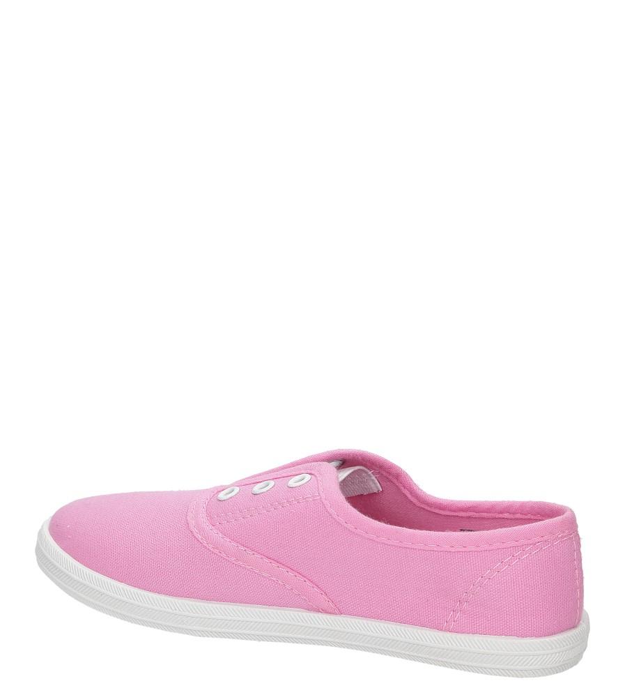 Dziecięce TRAMPKI CASU 5SP-210-LS różowy;;