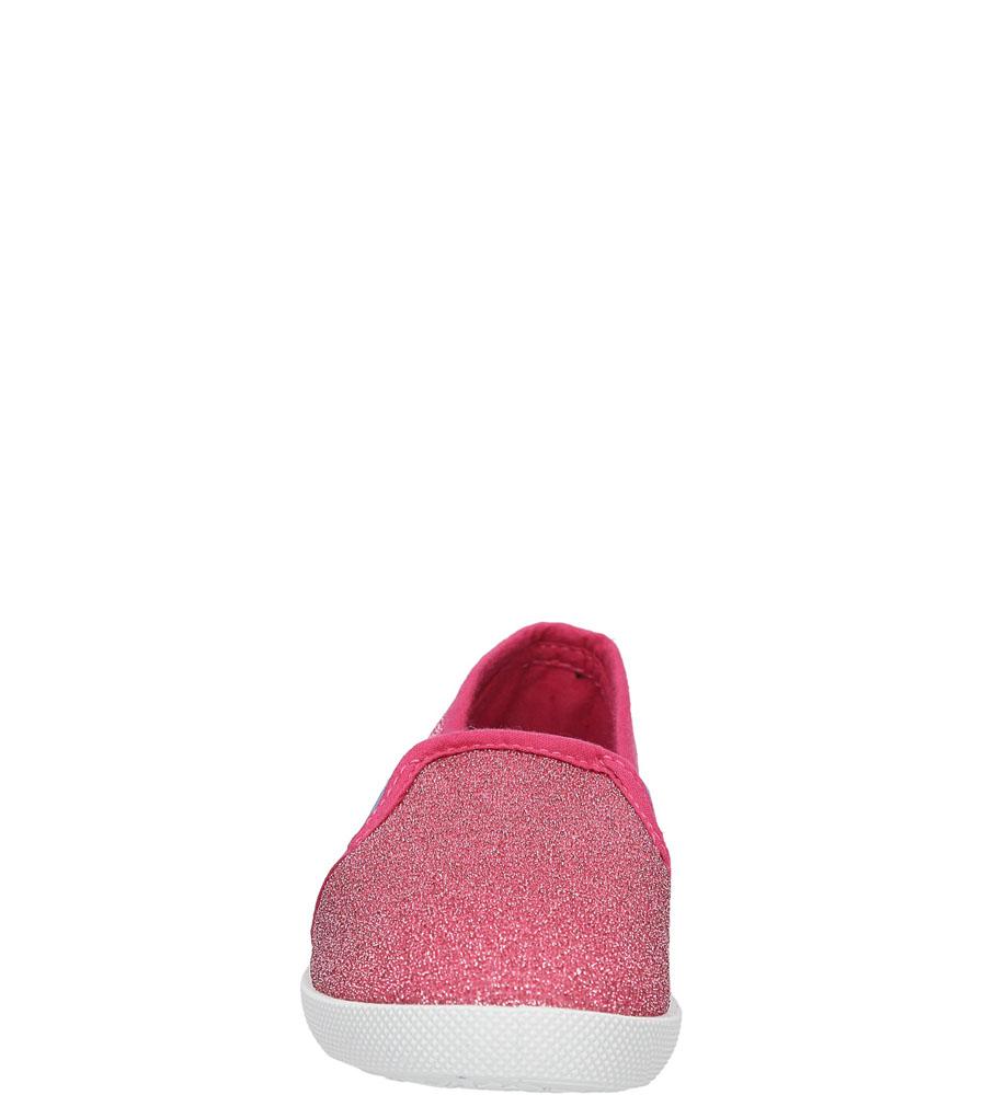 Dziecięce TRAMPKI CASU 5SP-423-LS różowy;;