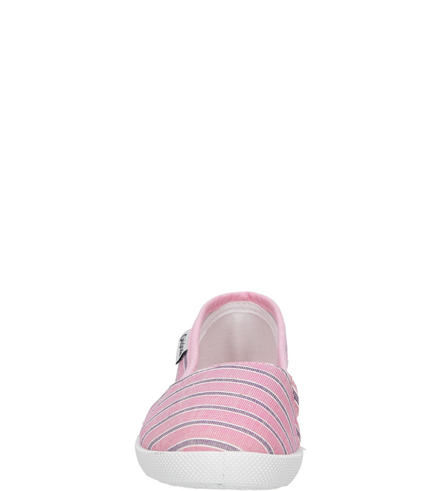 Dziecięce TRAMPKI CASU 5SP-284-LS różowy;;