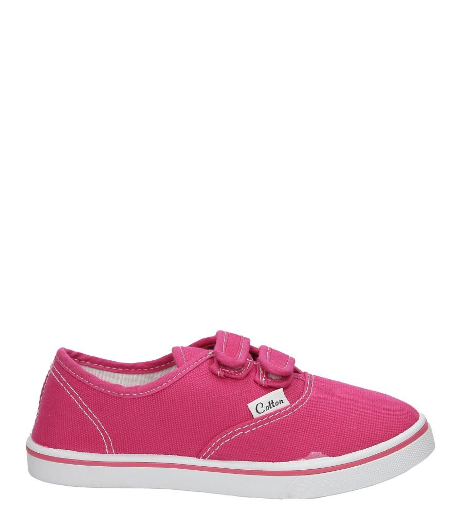 Dziecięce TRAMPKI CASU 5SP-181-LS różowy;;