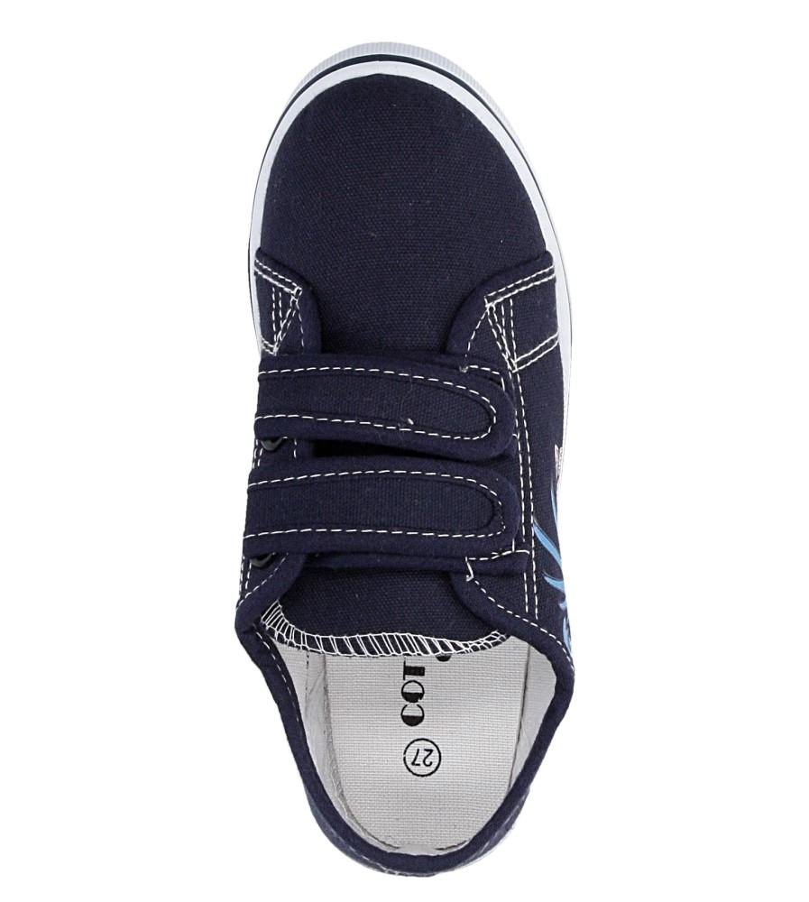 Dziecięce TRAMPKI CASU 5SP-309-LS niebieski;;