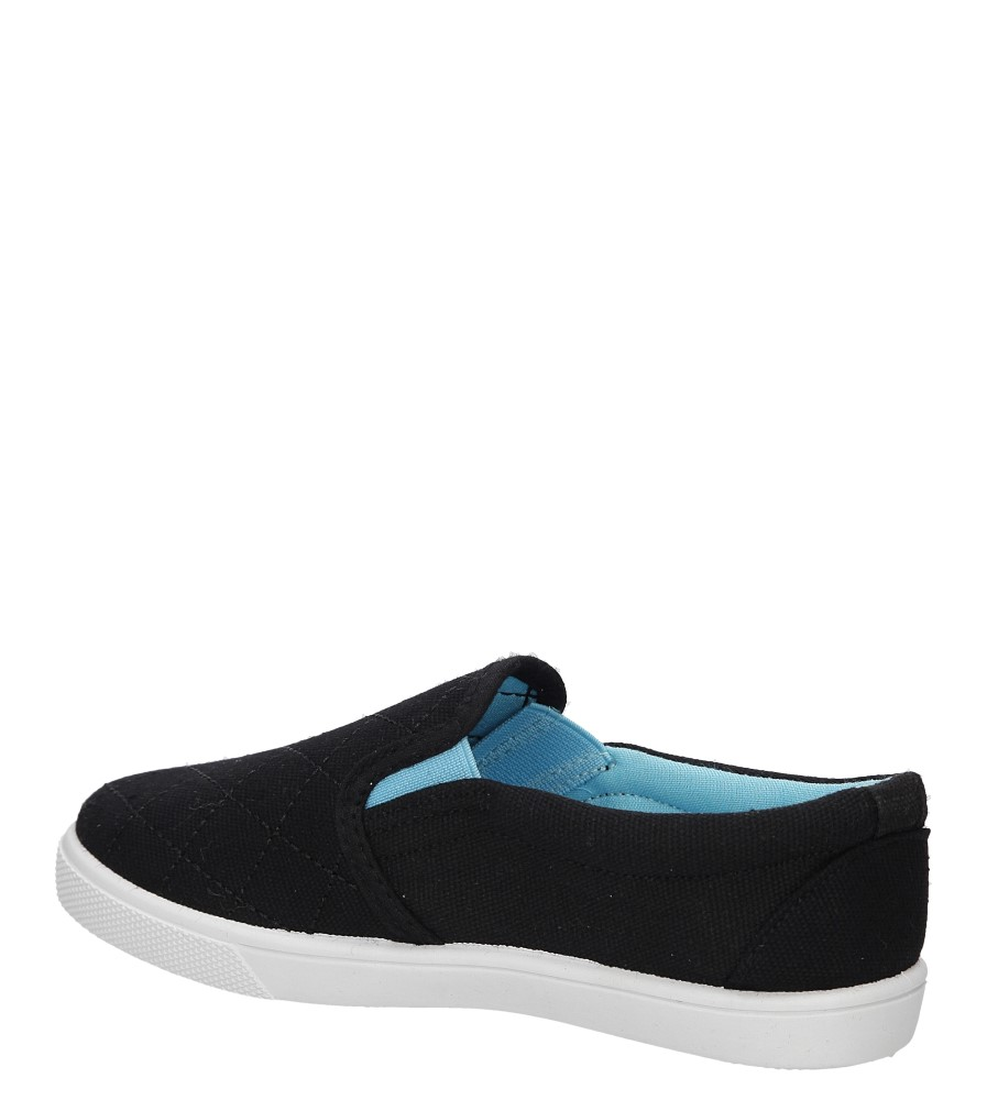 Dziecięce TRAMPKI CASU 5SP-313-LS czarny;niebieski;