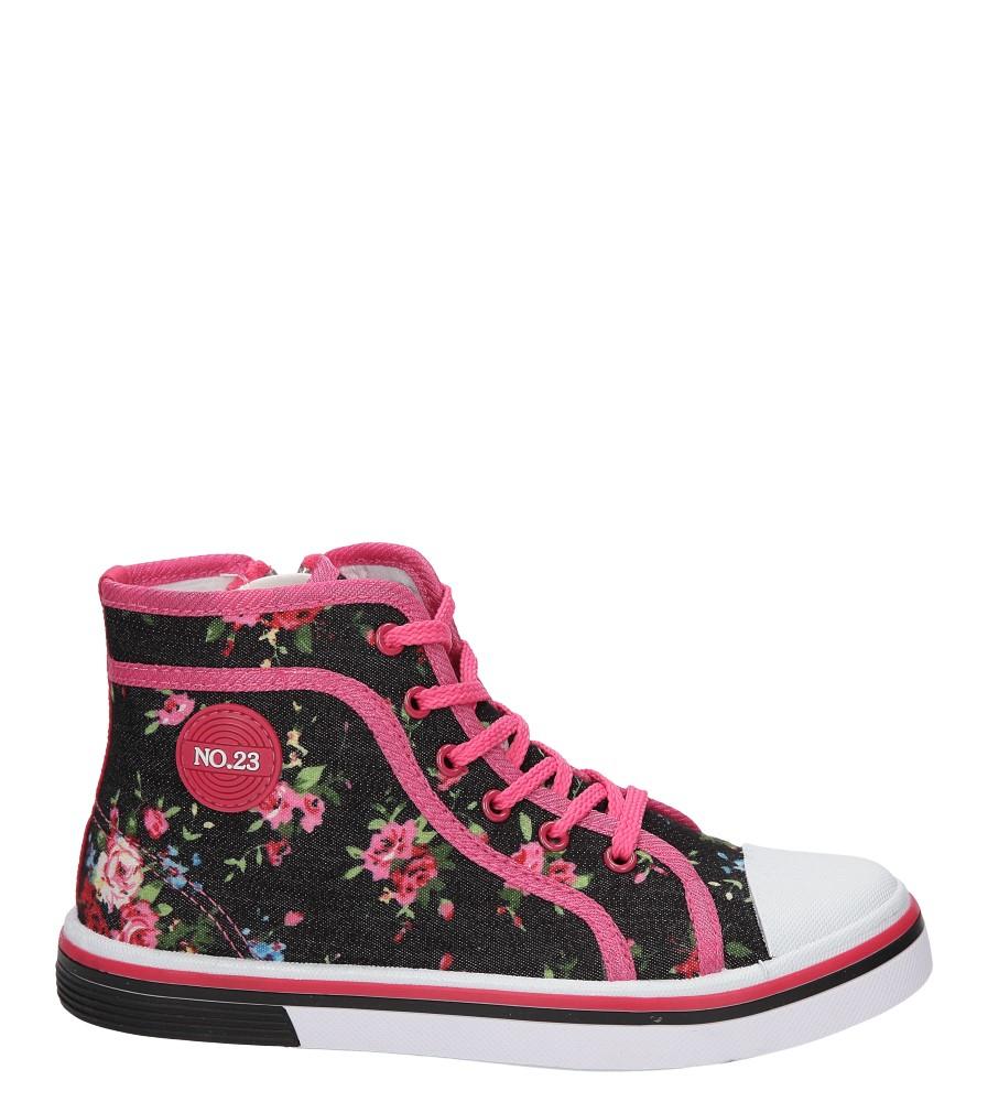 Dziecięce TRAMPKI CASU 5SP-250-LS czarny;różowy;