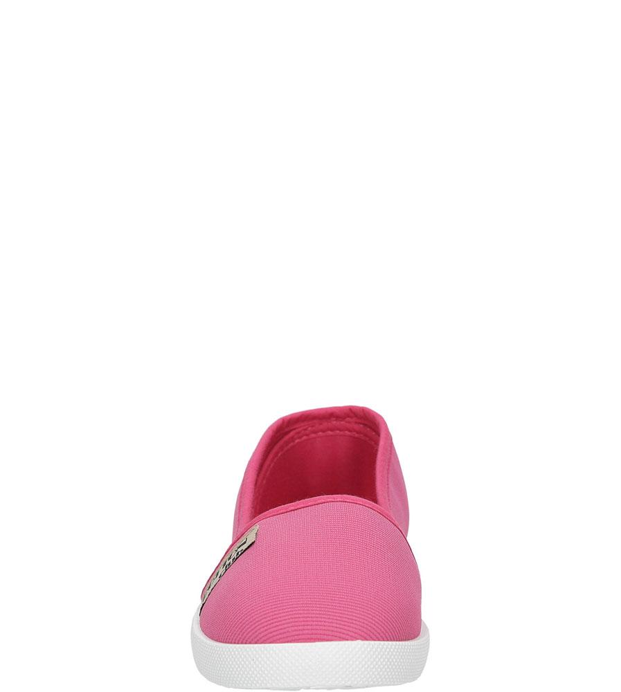 Dziecięce TRAMPKI CASU 5SP-380-LS różowy;;
