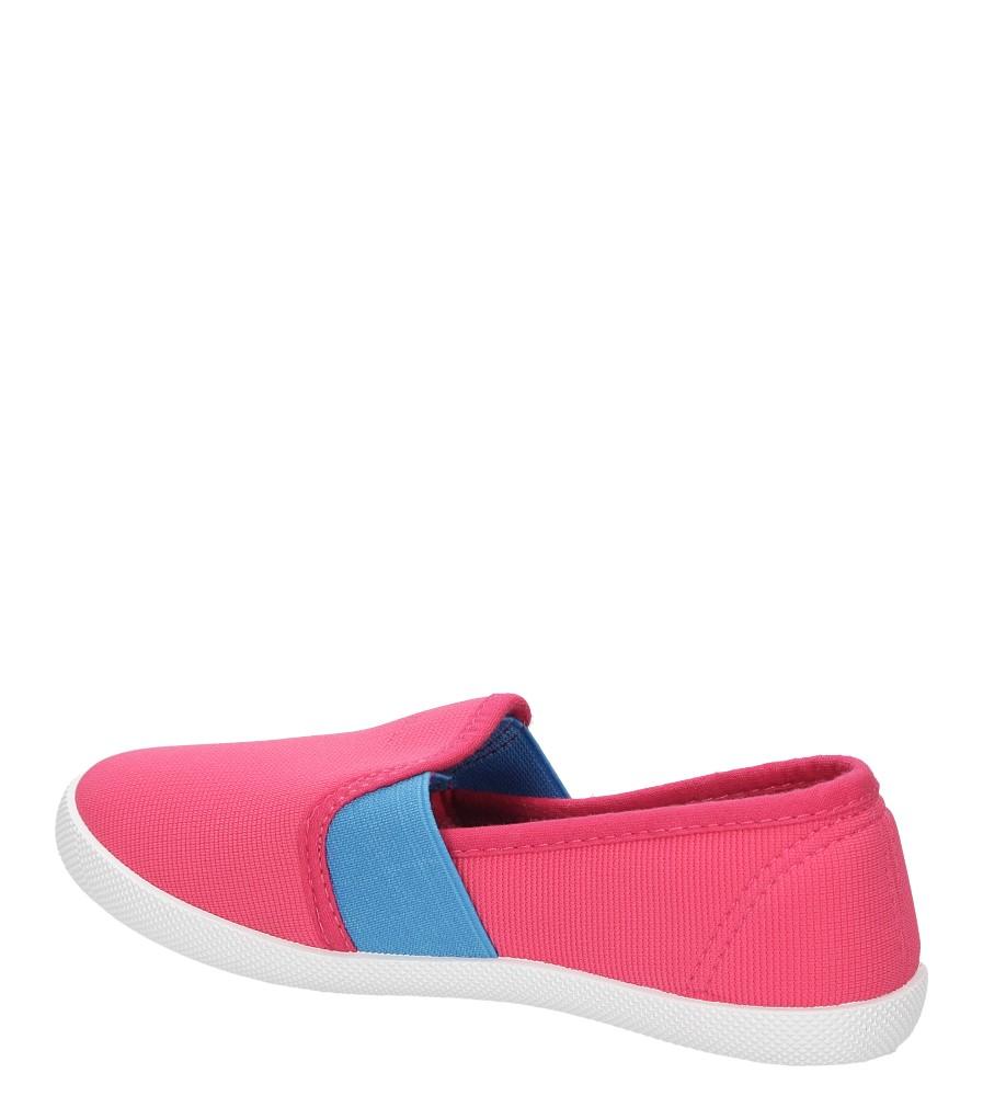 Dziecięce TRAMPKI CASU 5SP-400-LS różowy;niebieski;