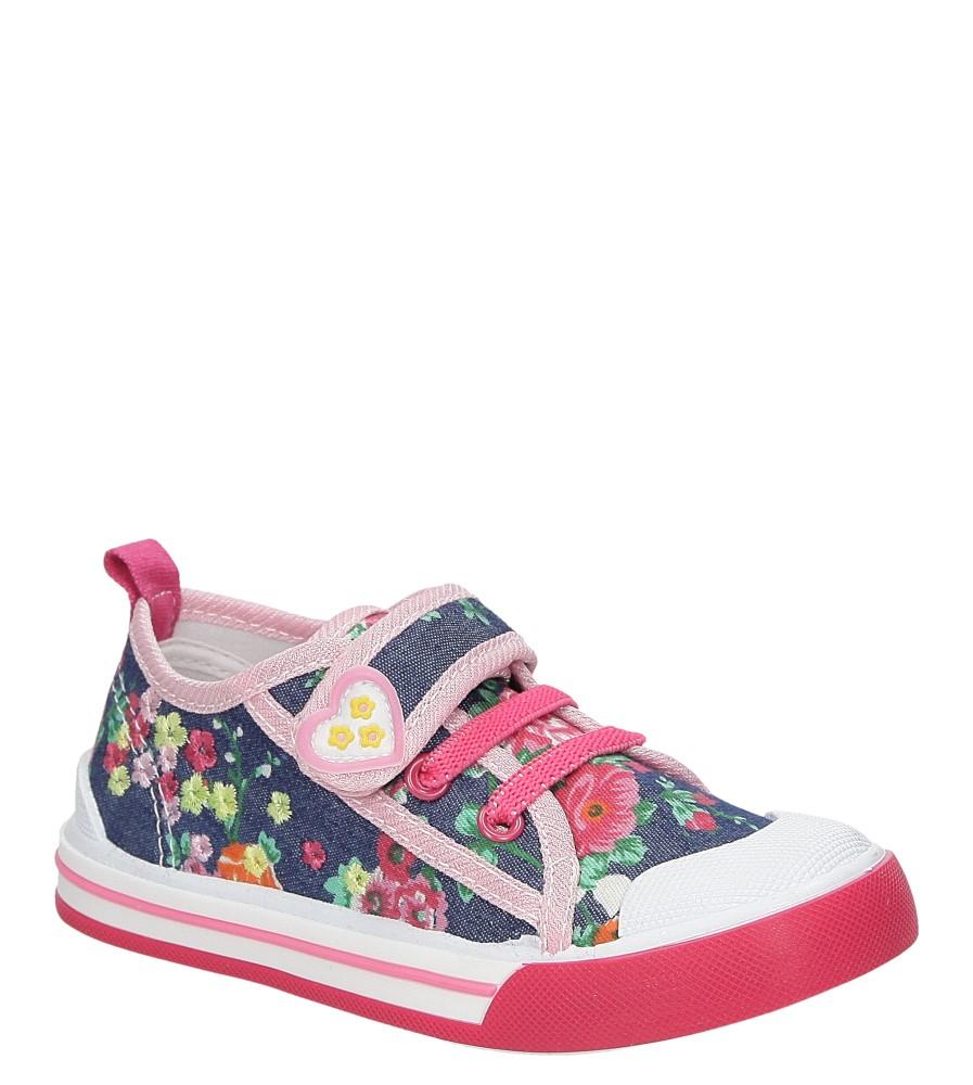 Dziecięce TRAMPKI CASU 3SP-237-LS różowy;;