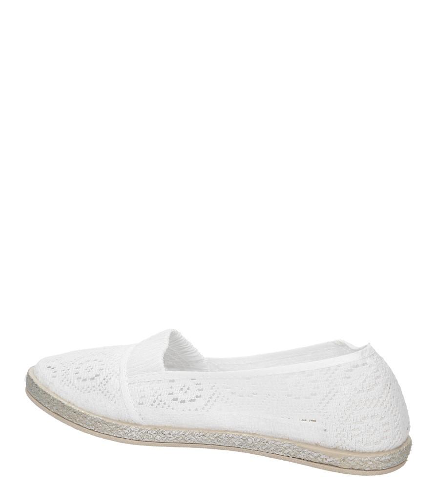ESPADRYLE CASU JX32 kolor biały