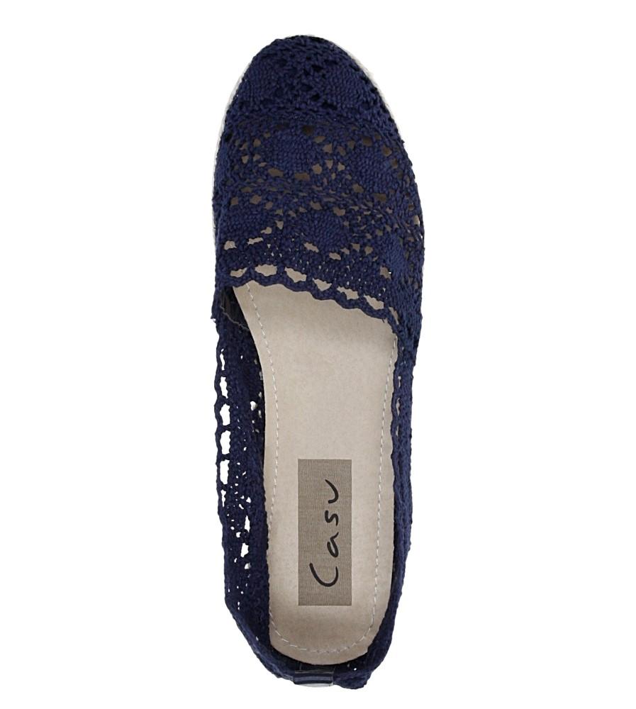 Damskie ESPADRYLE CASU C502 niebieski;;