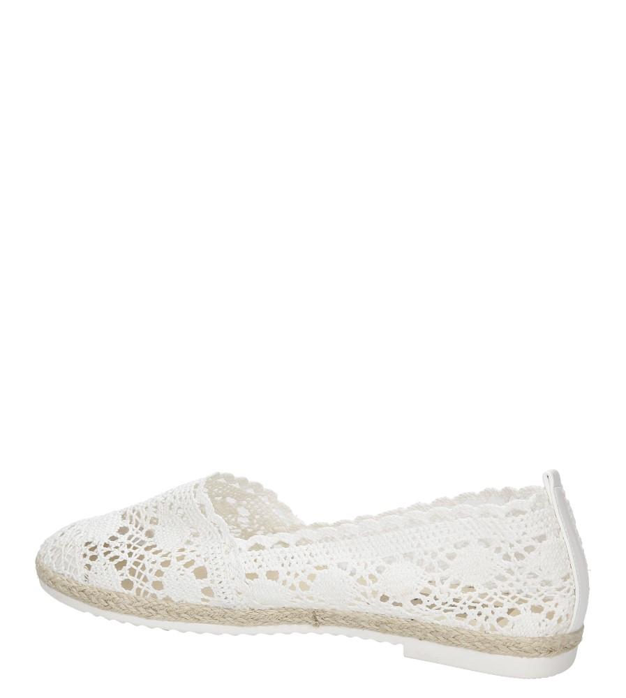 Damskie ESPADRYLE CASU C502 biały;;