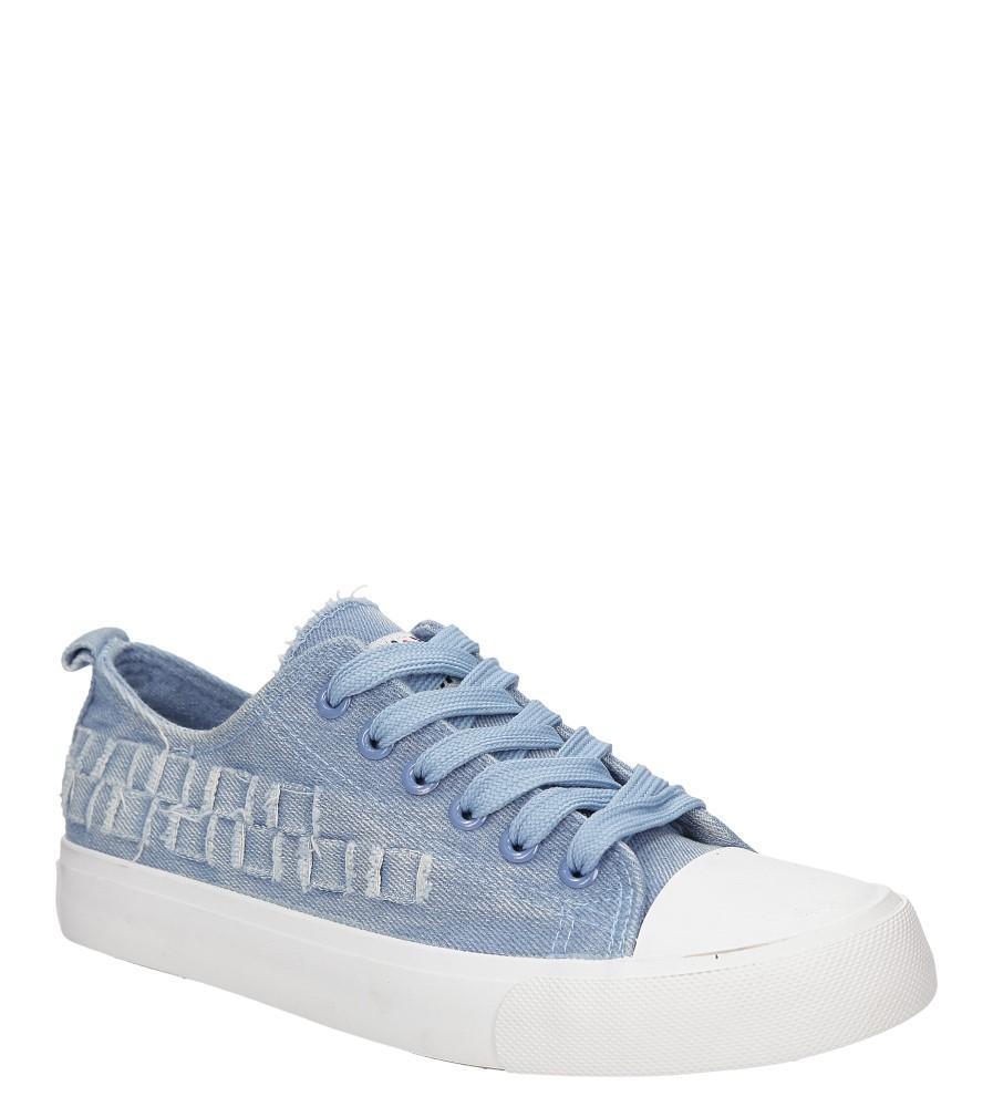 Damskie TRAMPKI CASU WC1685 niebieski;;