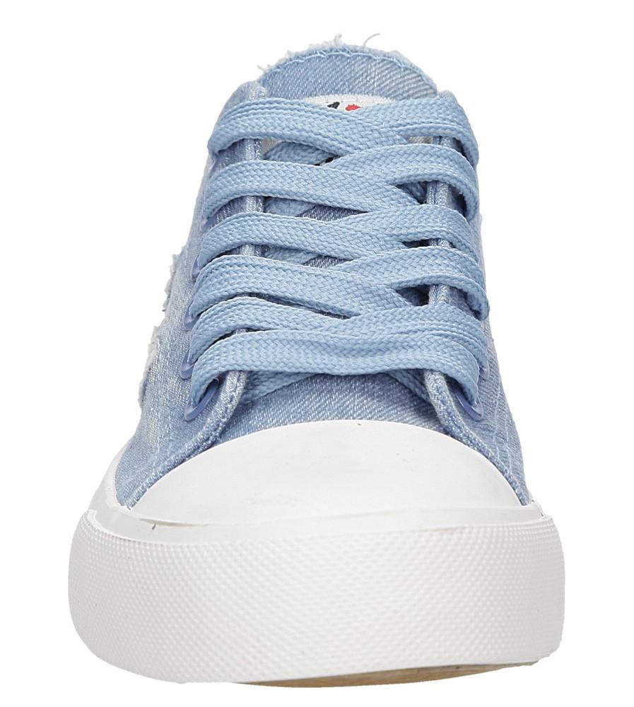 Trampki Casu WC1685 kolor jasny niebieski