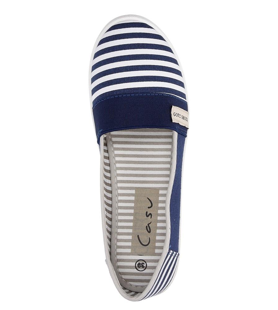 Damskie TENISÓWKI CASU GF-A140-1 niebieski;biały;