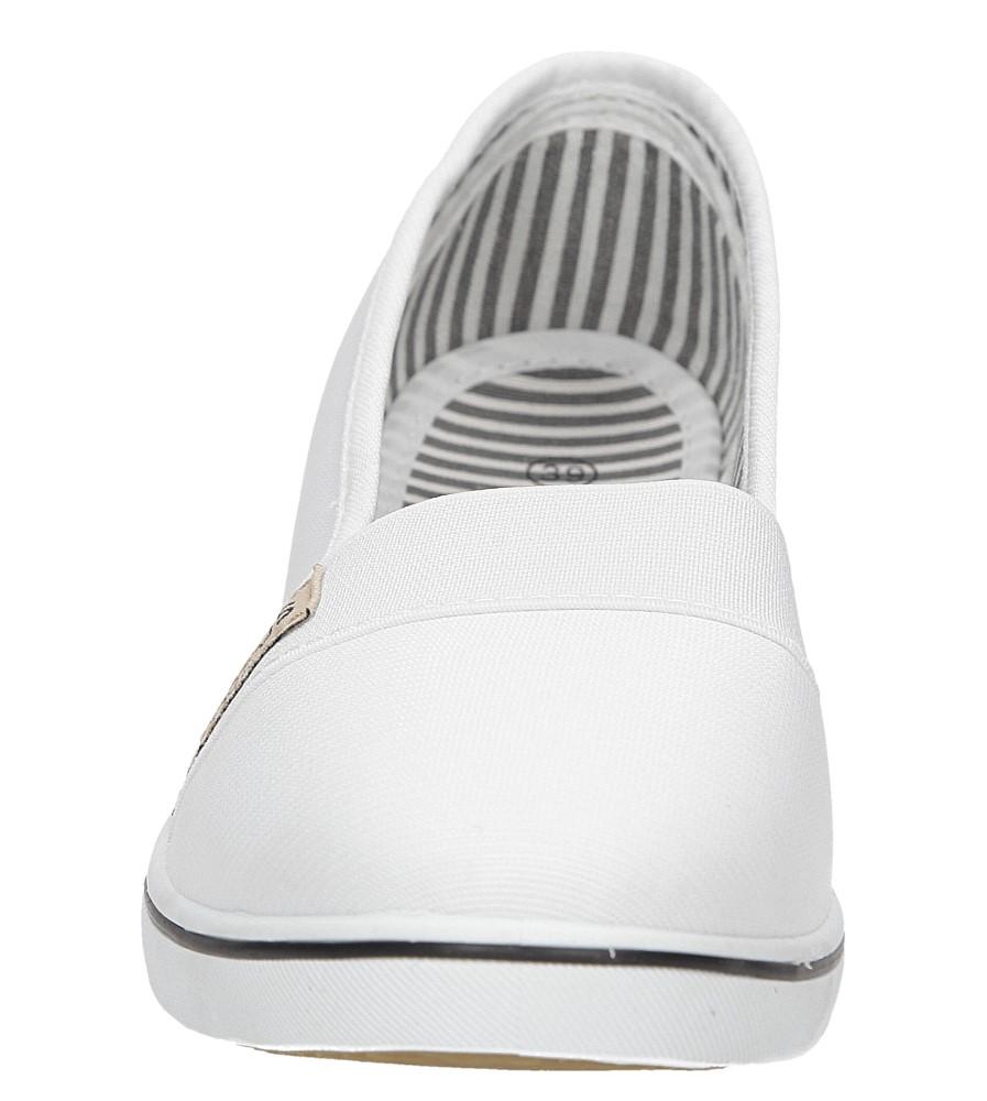 TENISÓWKI CASU CB806 kolor biały