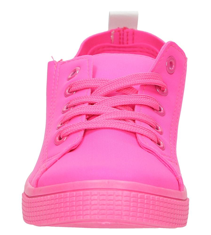 TRAMPKI CASU JX23 kolor różowy