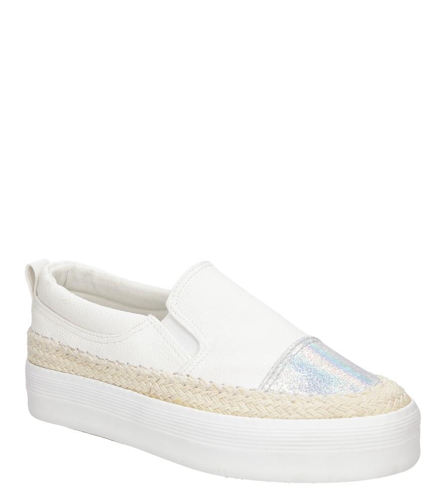 Damskie CREEPERSY CASU L-9 biały;;