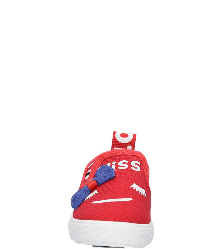 Dziecięce TRAMPKI CASU XD-1 czerwony;;