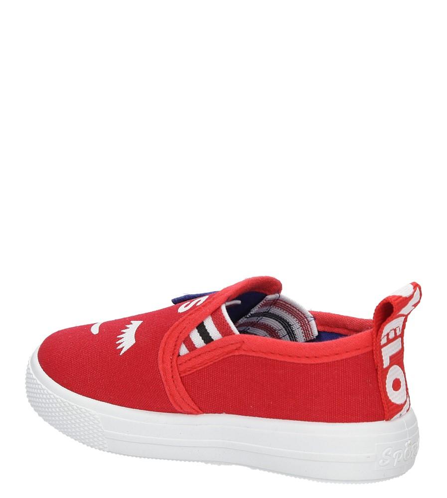 Dziecięce TRAMPKI CASU XD-2 czerwony;;