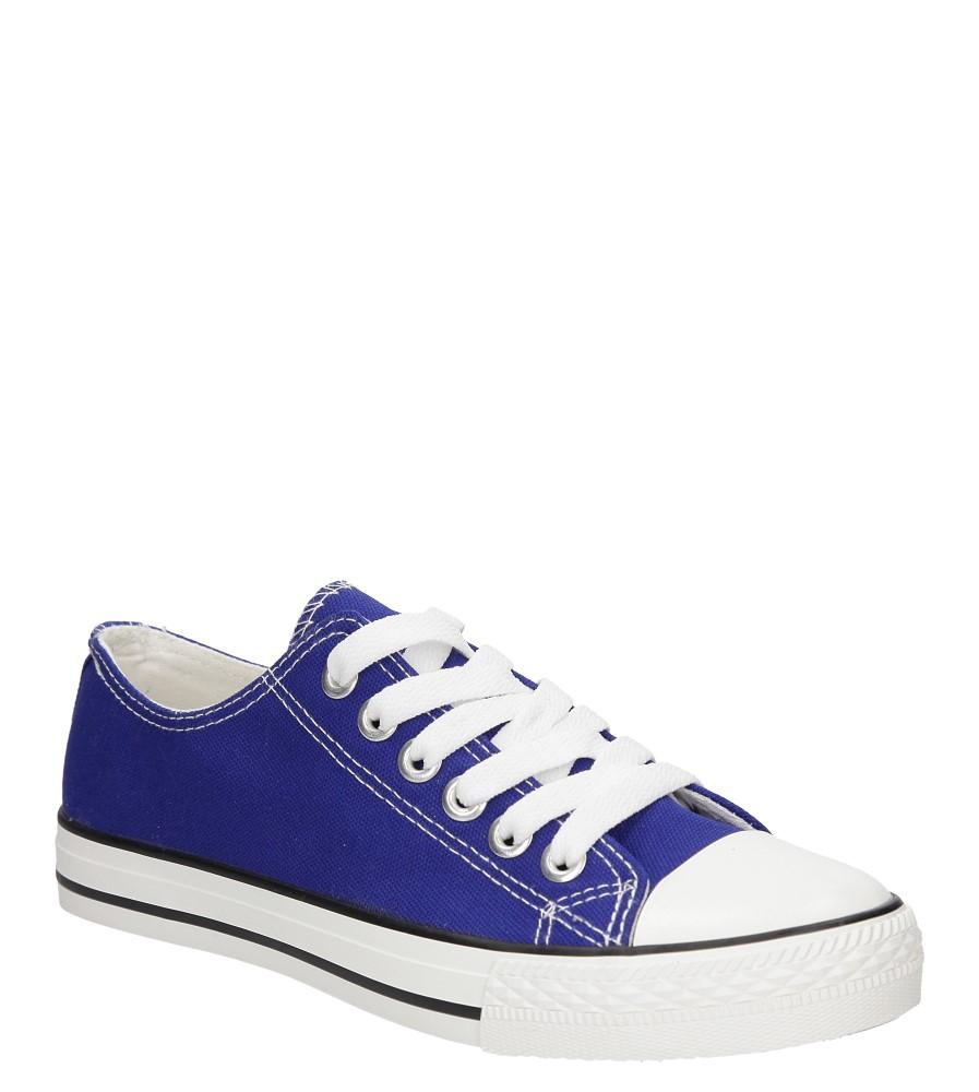 Damskie TRAMPKI CASU 888-1 niebieski;;