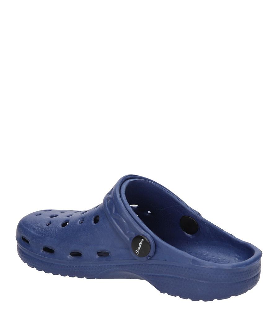 Dziecięce KLAPKI CASU GD121C niebieski;;