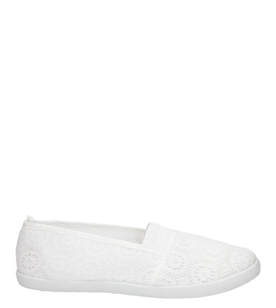 Damskie TENISÓWKI CASU 90473/00 biały;;