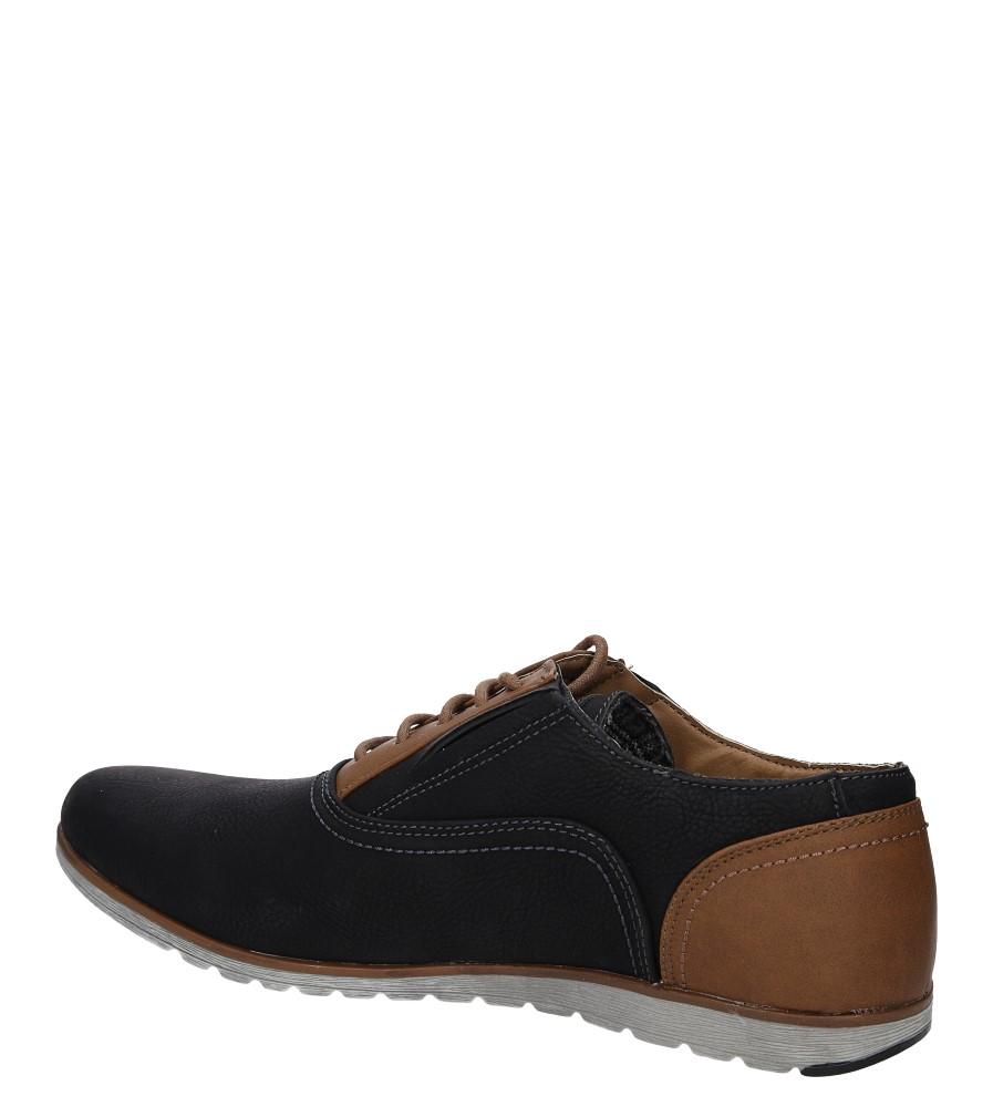 Męskie PÓŁBUTY MXC353 czarny;brązowy;