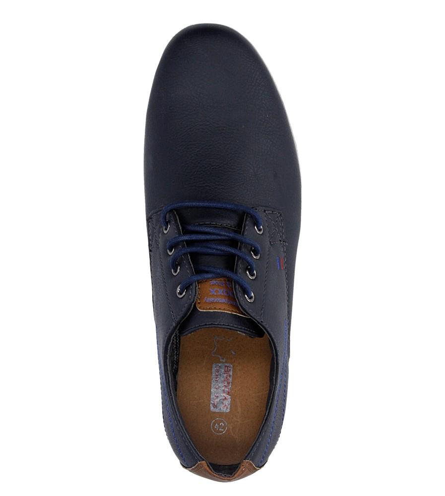 Męskie PÓŁBUTY MXC352 czarny;niebieski;