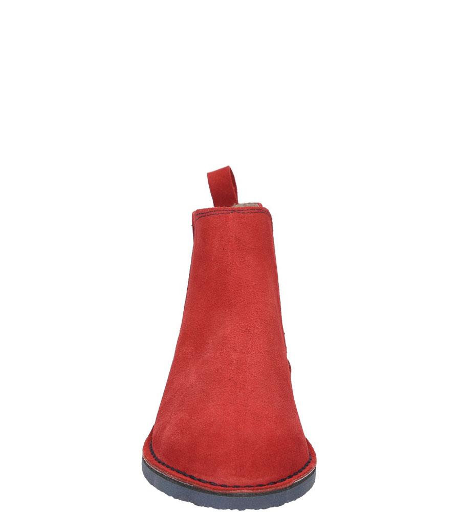 SZTYBLETY BIG STAR V273012 kolor czerwony