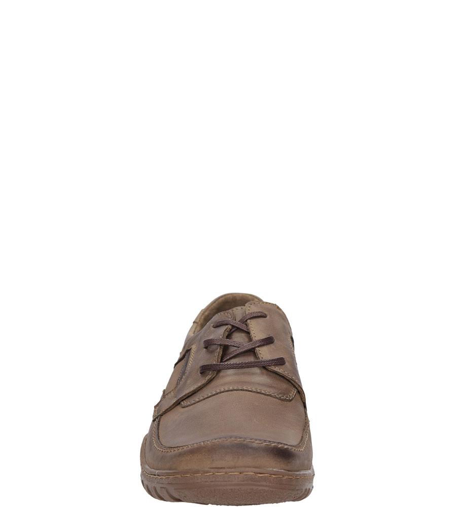 Męskie PÓŁBUTY CASU 298 brązowy;;