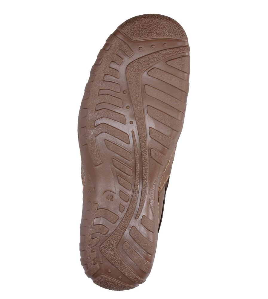 Półbuty skórzane wsuwane Casu 283 wys_calkowita_buta 15 cm