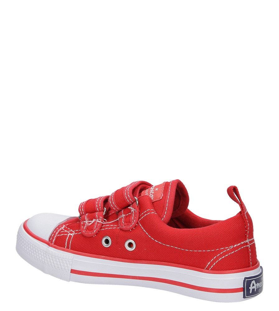 TRAMPKI AMERICAN LH-16-DSTC02-2 kolor biały, czerwony