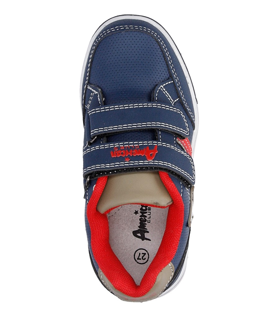 Dziecięce SPORTOWE AMERICAN CA51-A14797 niebieski;czerwony;