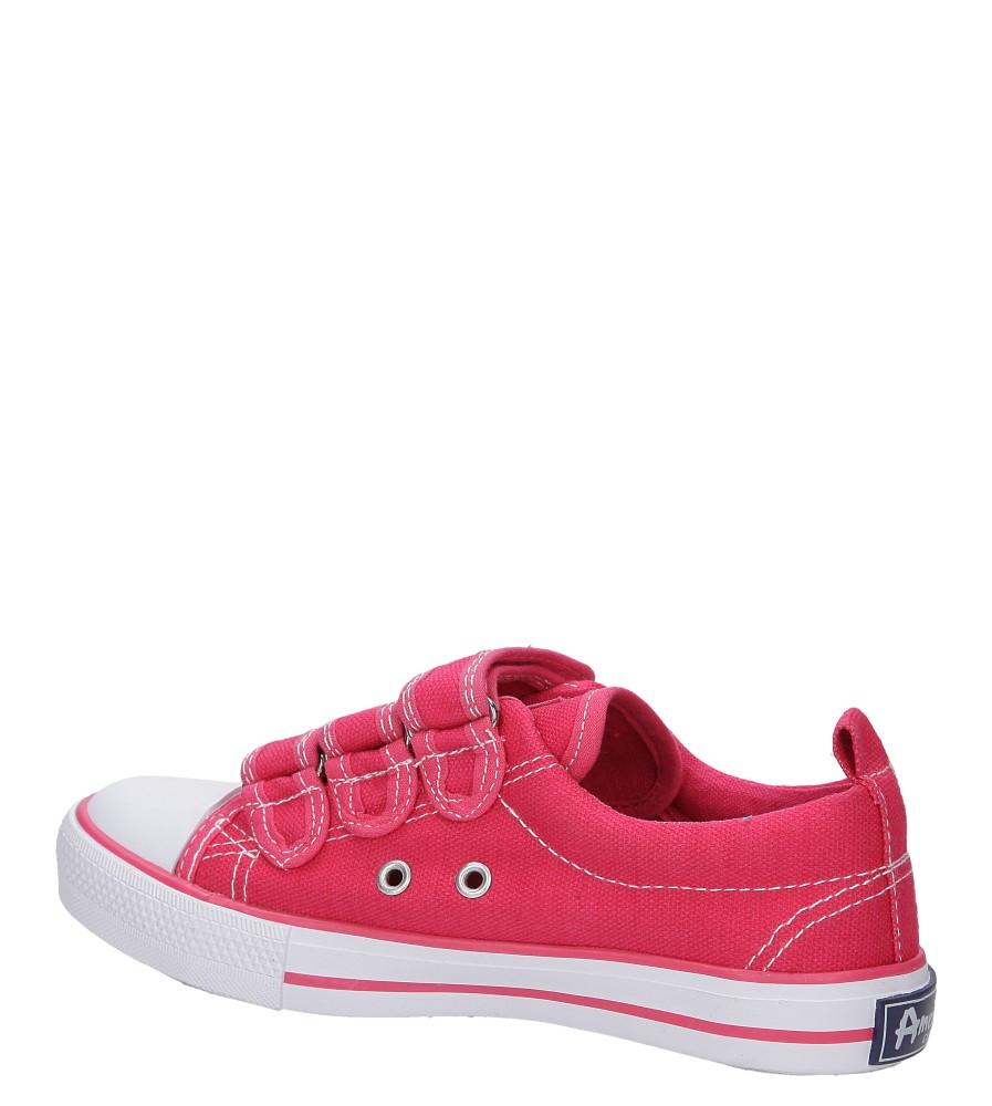 Dziecięce TRAMPKI AMERICAN LH-16-DSTC02-2 różowy;biały;