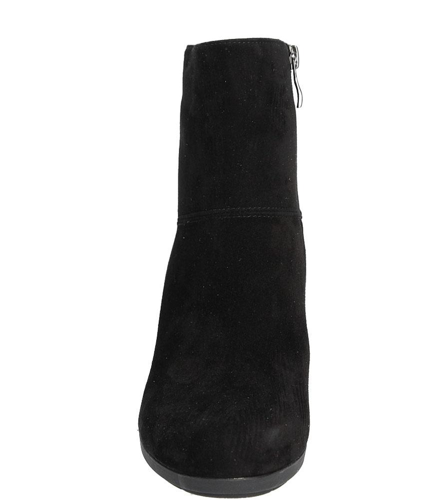 BOTKI NESSI 923/N kolor czarny