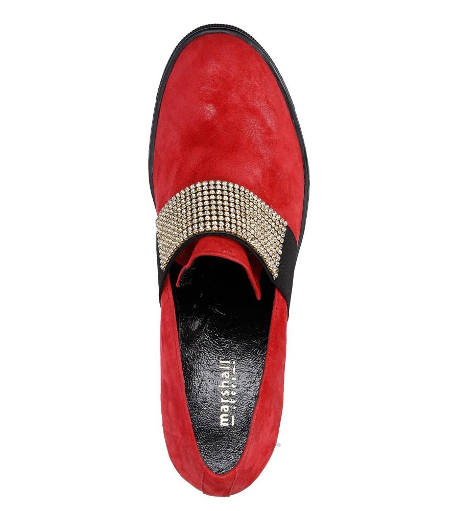 Damskie SNEAKERSY MARSHALL 6802 czerwony;;