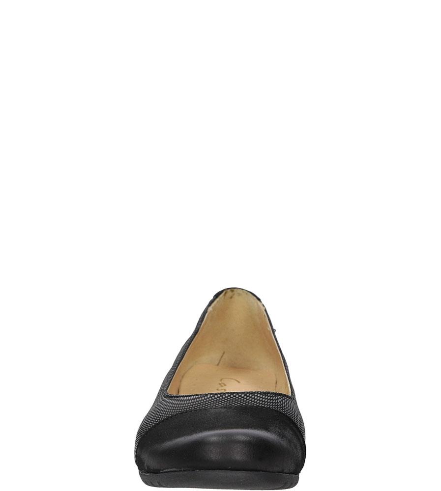 BALERINY CASU 3977 kolor czarny